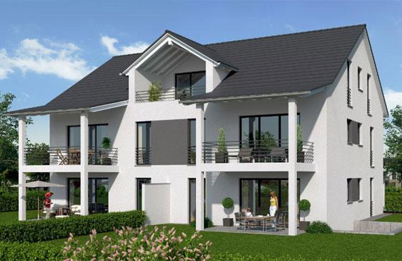 mehrfamilienhaus bauen mehrfamilienhaus bauen mit 2 3 4 5 6 7 8 10 wohnungen hausbau mit system. Black Bedroom Furniture Sets. Home Design Ideas