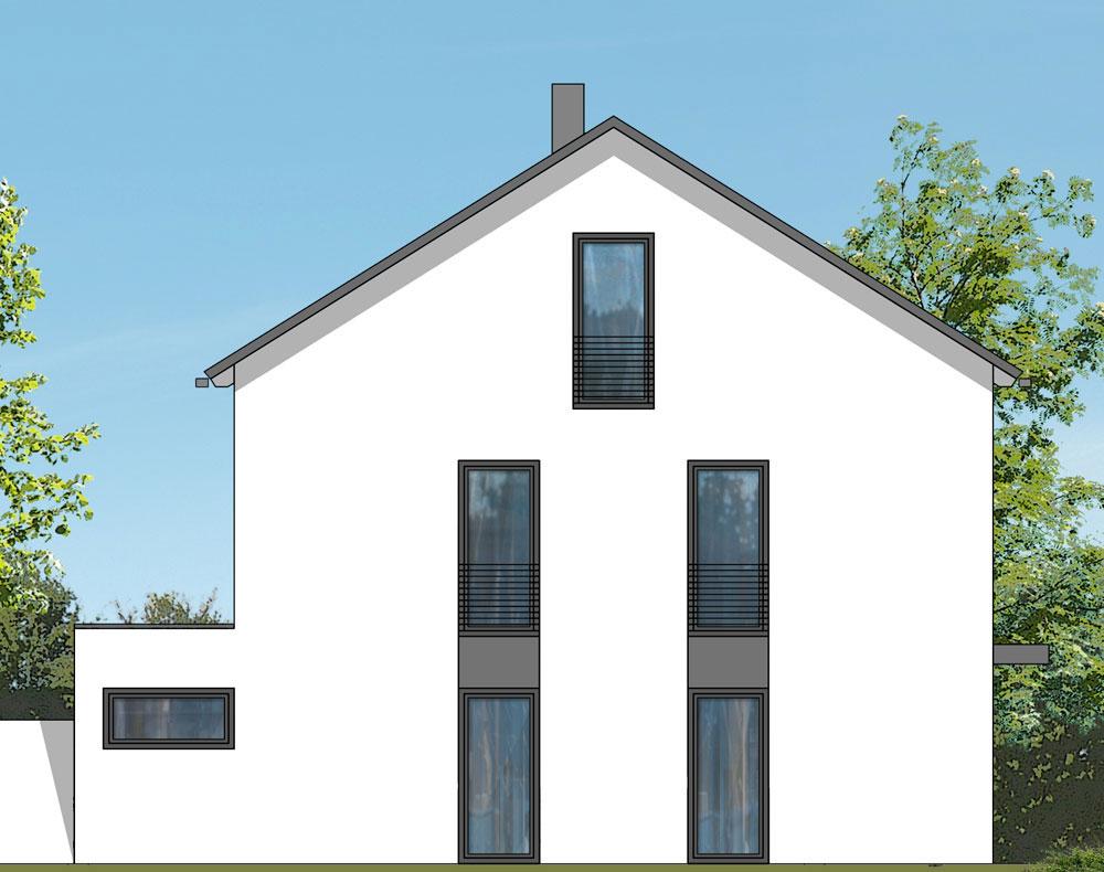 exklusives doppelhaus leitershofen e m wohnbau gmbh. Black Bedroom Furniture Sets. Home Design Ideas